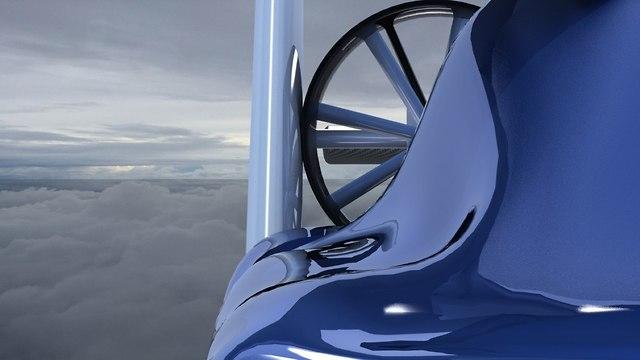 לכתבה! הדגם המתוכנן של המכונית הטסה של NFT (צילום: יח