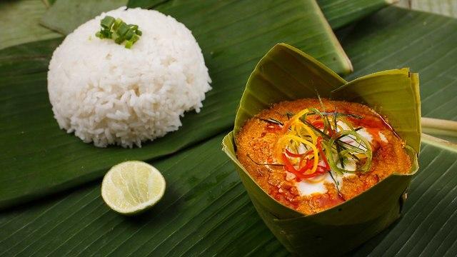 פיש אמוק אוכל קמבודי קמבודיה  (צילום: shutterstock)