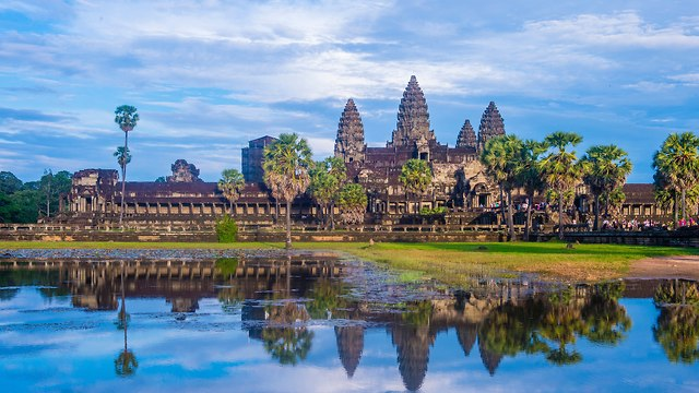אנגקור וואט מקדש מקדשים קמבודיה (צילום: shutterstock)
