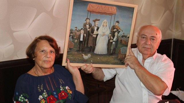 Владимир Гальперин и Ирина Подражанская