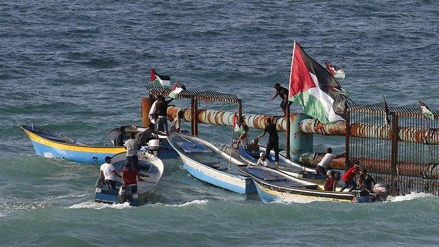 Рыбаки у берегов Газы. Фото: AFP (Photo: AFP)