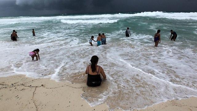 מקסיקו קנקון סופת הוריקן מייקל ארה
