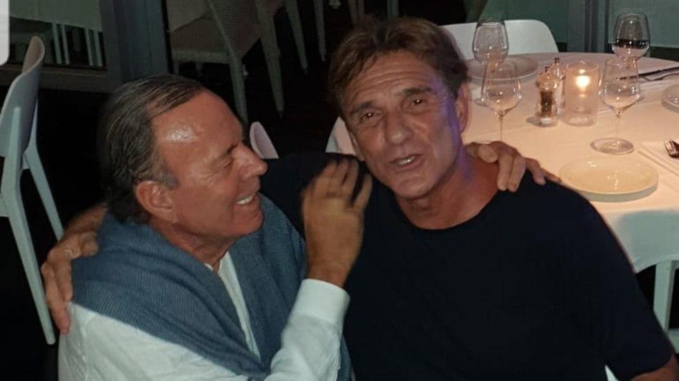 אילן טריגר וחוליו אילגסיאס (צילום: יח