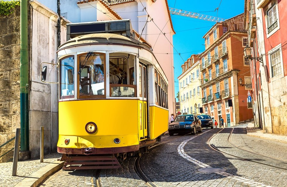 החשמליות של ליסבון (צילום: shutterstock)