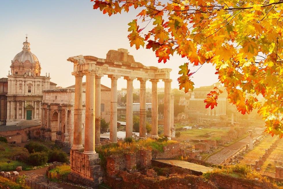 רומא בסתיו (צילום: shutterstock)