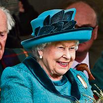 המלכה אליזבת   צילום: ABACA