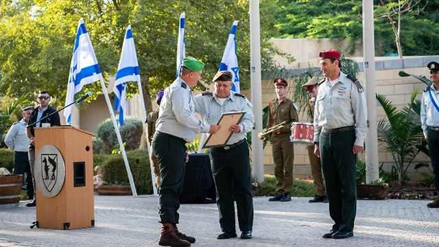 The award ceremony (Photo: IDF Spokesperson's Unit)