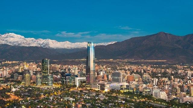 סנטיאגו צ'ילה (צילום: shutterstock)