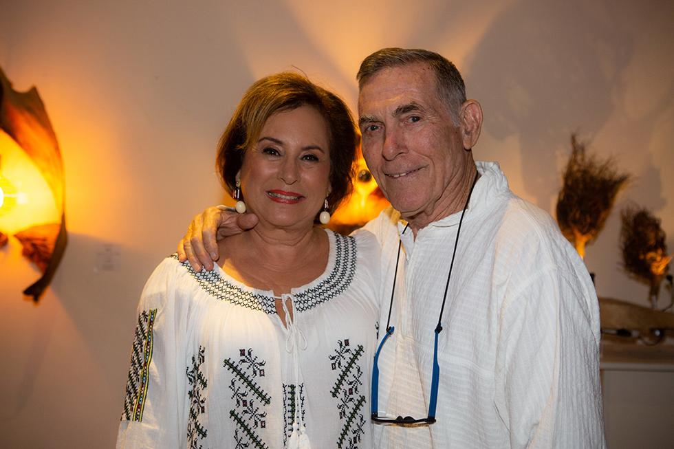 דן מרגלית ונאוה ברק (צילום: דפנה טלמון)