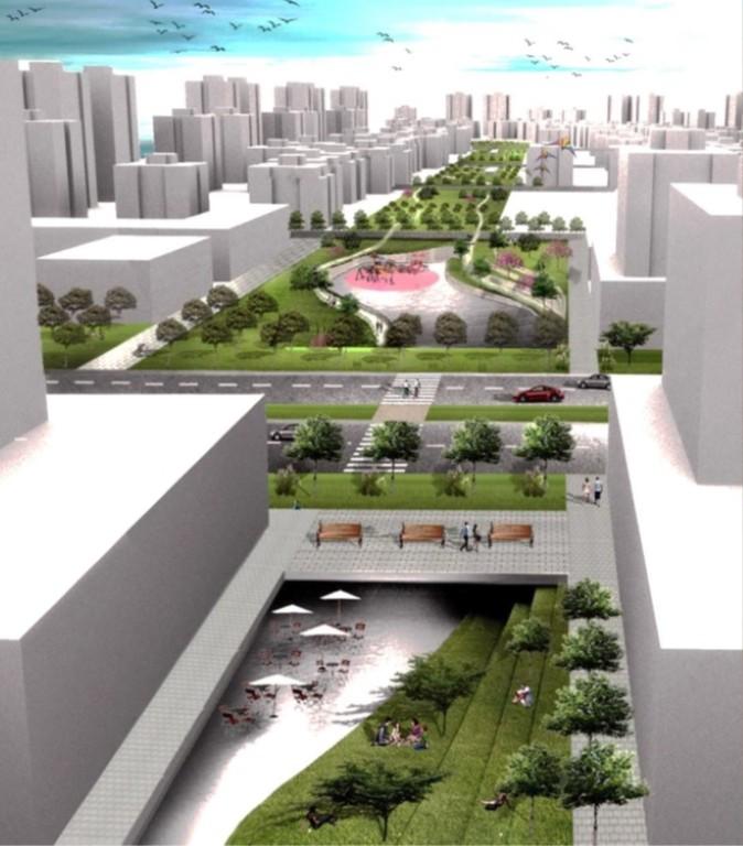 כפר יונה תוכנית בנייה (הדמיה: משרד צמיר אדריכלים ומתכנני ערים בע