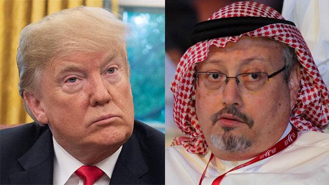US President Donald Trump and Jamal Khashoggi (Photo: EPA, AFP)