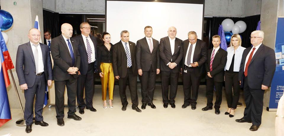 Почетные гости конференции. Фото: Kobi Hershberg