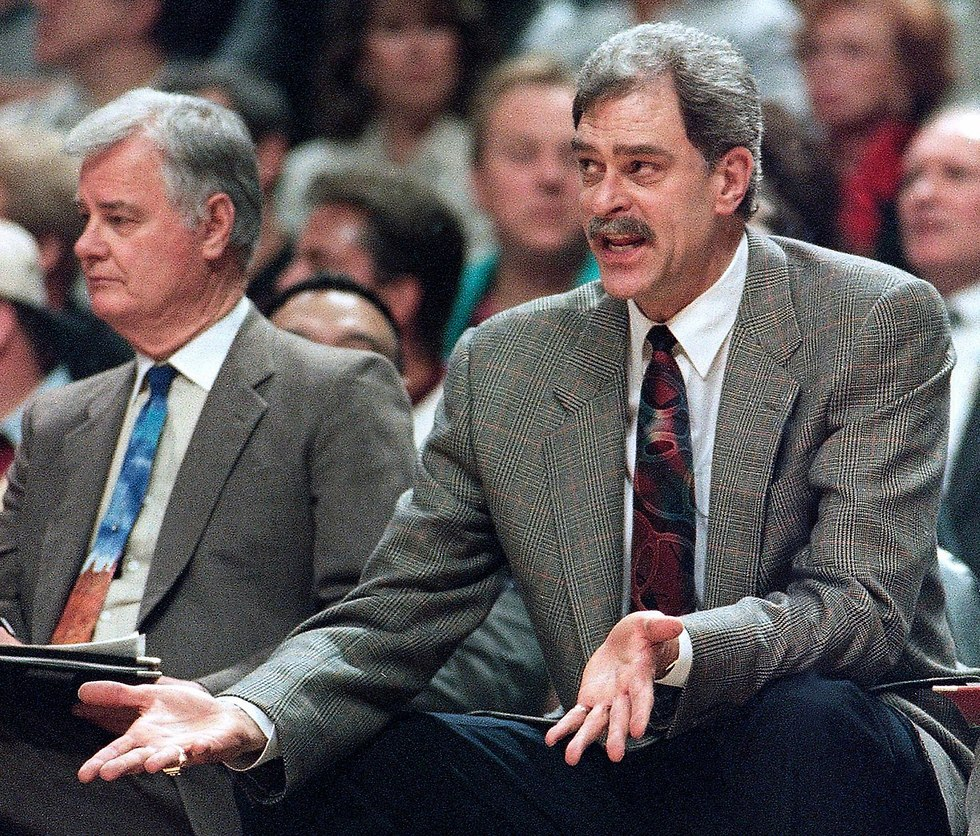 פיל ג'קסון וטקס ווינטר (צילום: AP)