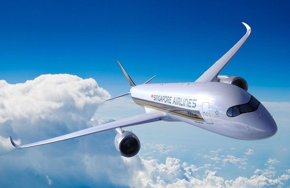 Airbus A350 компании Singapore Airlines. Фото: AFP