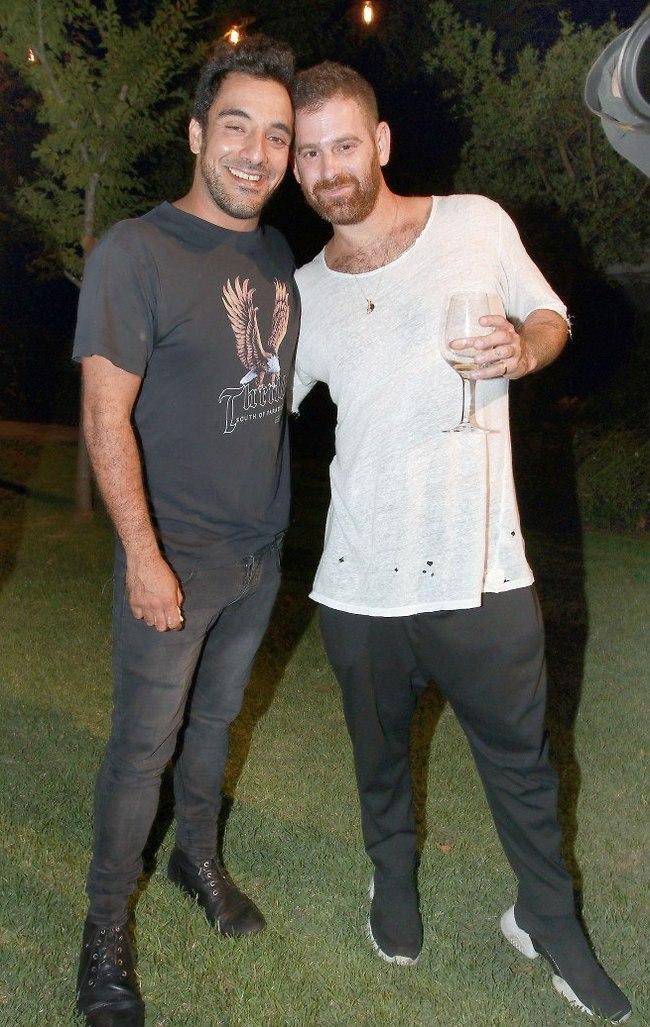 ראש בראש. עומר מילר ואבי ביטון (צילום: ענת מוסברג)