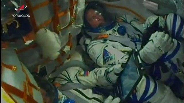 סויוז סיוז שיגור רקטה אסטרונאוטים קזחסטן תחנת החלל הבינלאומית חלל התרסקות נחיתת חירום ()