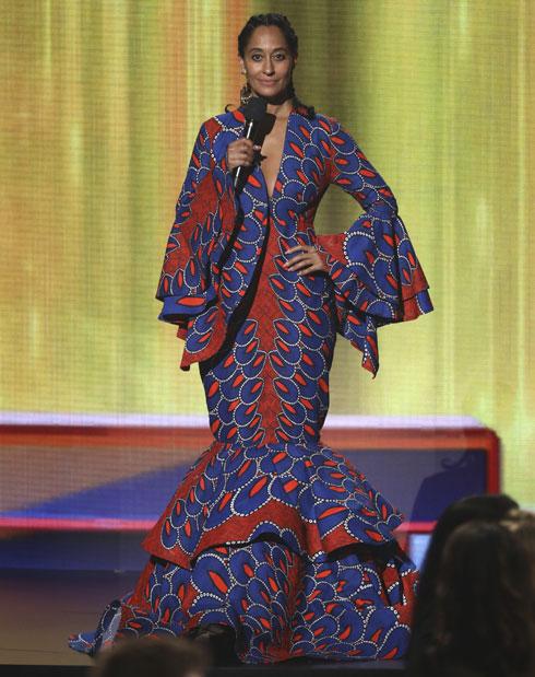 """ההצהרה האופנתית של טרייסי אליס רוס: """"לובשת רק מעצבים שחורים"""". לחצו על התמונה לכתבה המלאה (צילום: AP)"""