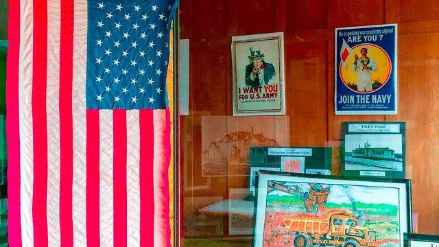 חנות ב אוולת' עיירת כורים ב מינסוטה לקראת בחירות האמצע ארה