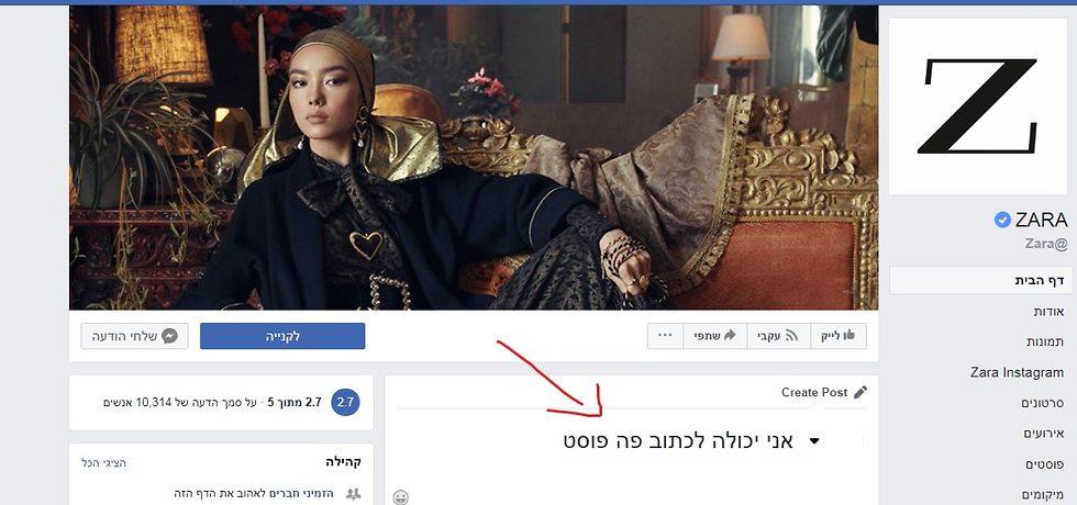 חברות שחוסמות פוסטים פייסבוק (צילום מסך)