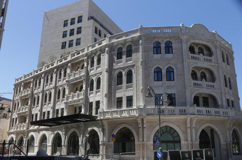 מלון וולדורף אסטוריה (צילום: אלכס קולומויסקי)
