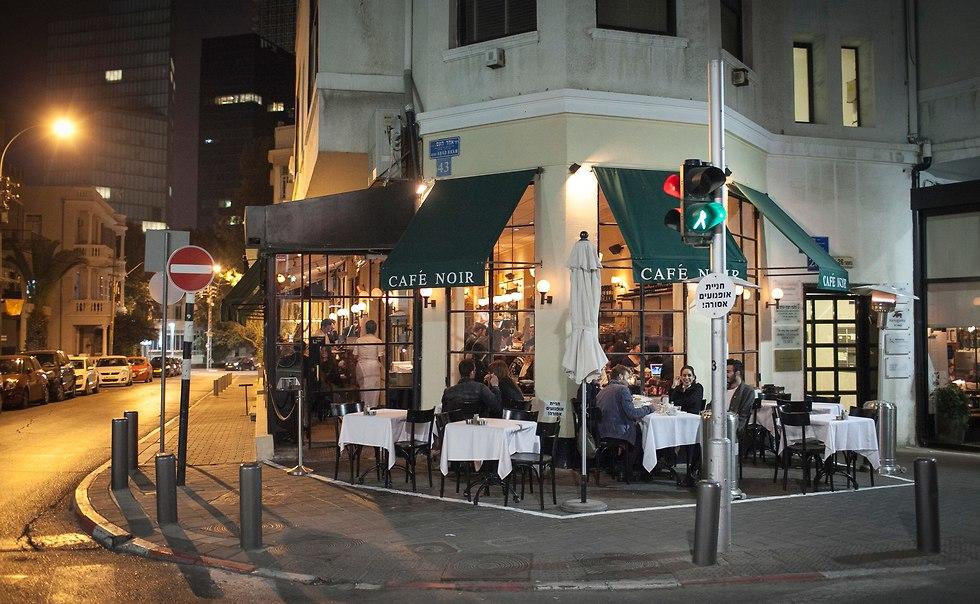 קפה נואר בתל אביב (צילום: יח
