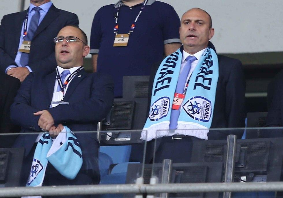 נבחרת ישראל (צילום: ראובן שוורץ)