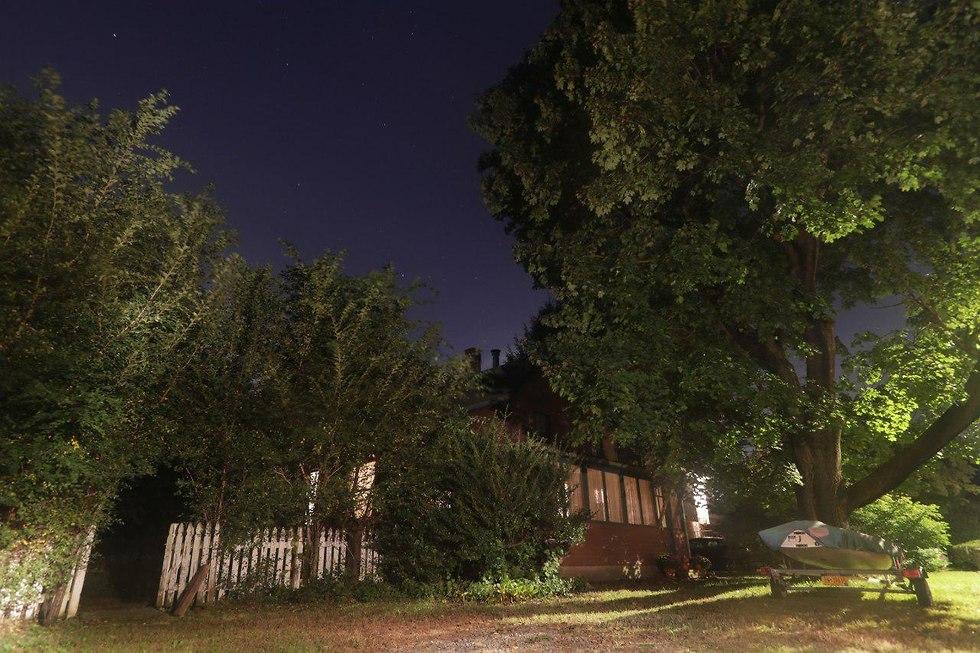 ביתו של פול רוזנפלד, החשוד שתכנן לפוצץ עצמו במרכז הבירה וושינגטון (צילום: AP)