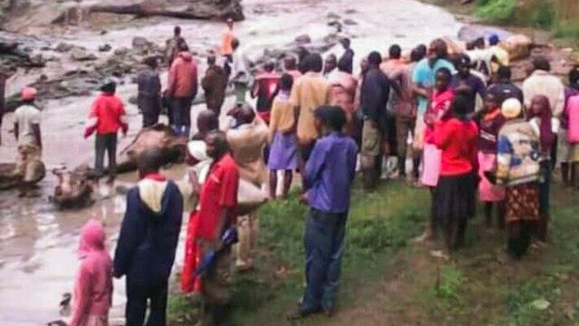 מפולת במזרח אוגנדה הרגה לפחות 31 אנשים (צילום: AFP)
