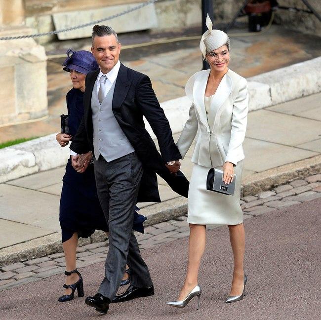 רובי וויליאמס הביא את אשתו ואמא שלה (צילום: AP)