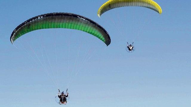 A powered parachute  (Photo: Yuval Hen)