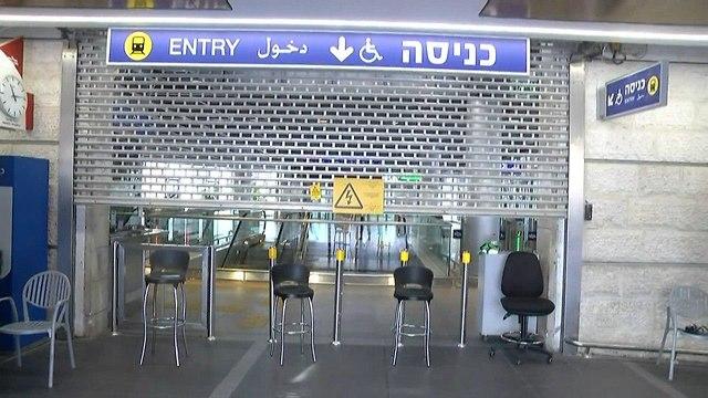 רכבת ישראל בעומס בסופשי שבוע (צילום: עמית הובר)