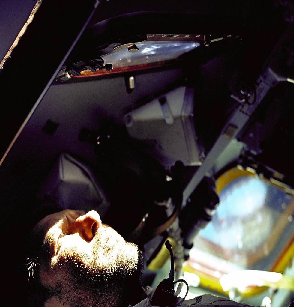 שירה במהלך המשימה (צילום: נאס