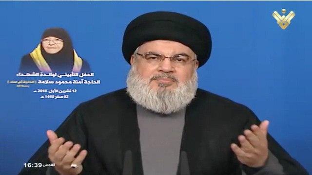 Hezbollah's Secretary-General Hassan Nasrallah