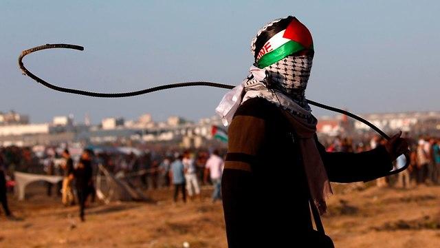 Emeutes à la frontière de Gaza (Photo: AFP)