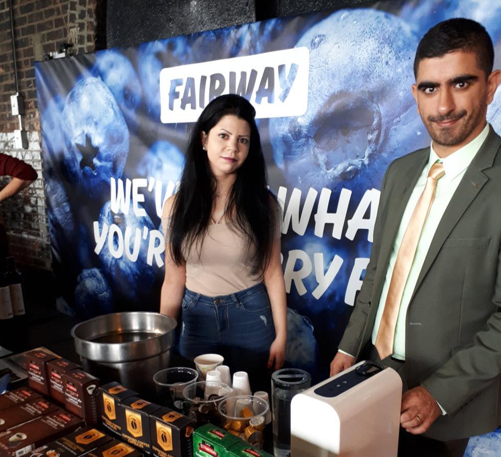 מציגים ישראלים בפסטיבל המזון בניו יורק ()