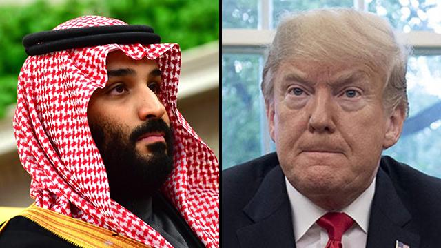 Crown Prince Mohammad Bin Salman (L), and US President Donald Trump (Photo: EPA, AFP)
