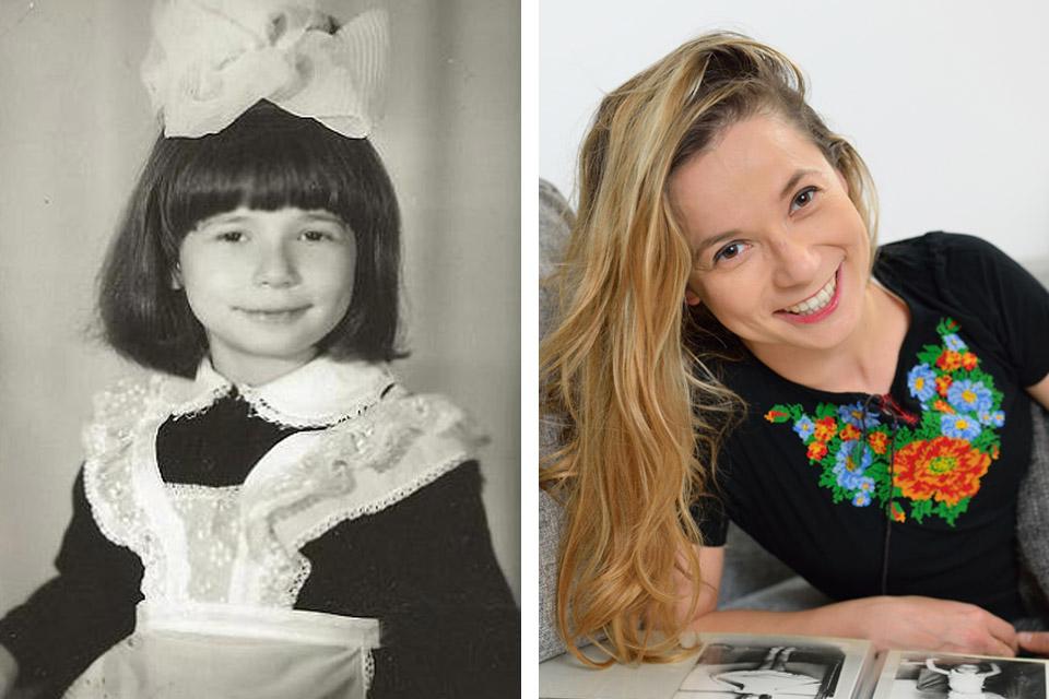 Тамара Клейнгон в детстве и сейчас. Фото: личный архив (фото личный архив)