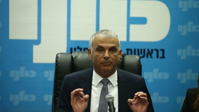 Finance Minister Moshe Kahlon (Photo: Ohad Zwigenberg)