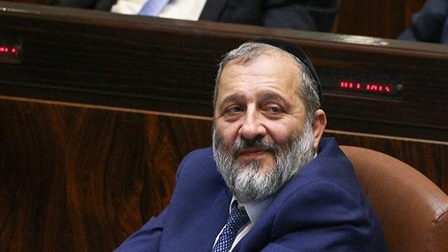 Interior Minister Aryeh Deri (Photo: Ohad Zwigenberg)