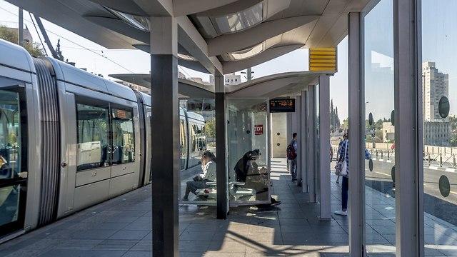 רכבת קלה ירושלים (צילום: shutterstock)