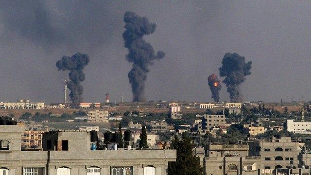 Удары по Газе