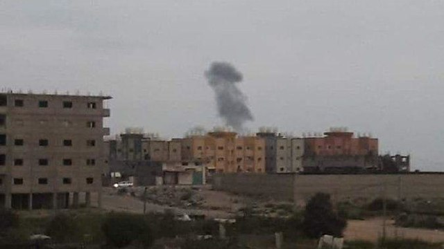 IAF strikes in Gaza