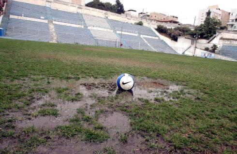 אצטדיון המכתש (צילום: ראובן שוורץ)