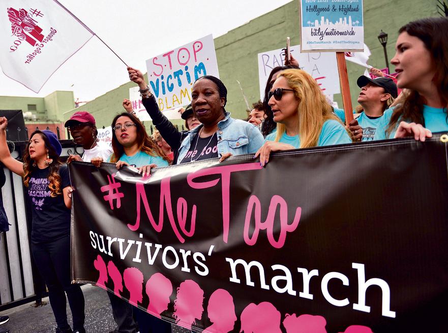 """הפגנה של תנועת MeToo#.  עופרן: """"דבר אלוהים יכול להתגלות אלינו גם דרך טרנדים מהוליווד, ולא רק בפרשת השבוע"""""""