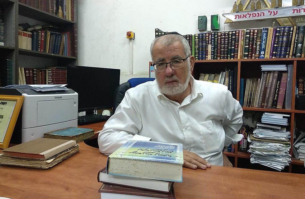 Rabbi and Professor Moshe Amar. (Photo: Tali Farkash)