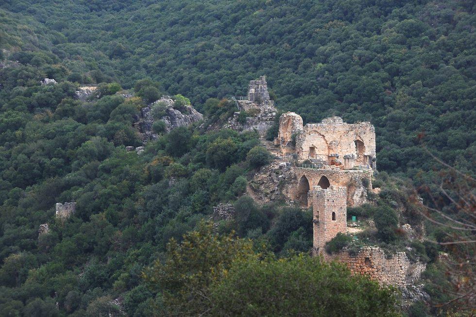 מבצר מונפור (צילום: עמיקם חורש)