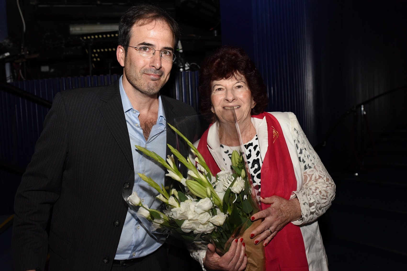 Профессор Хосе Коэн с мамой. Фото: Шай Файерштейн