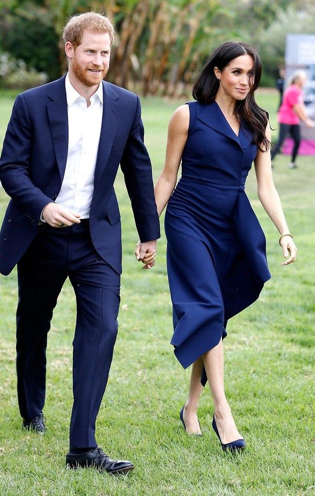 תברח. הנסיך הארי ומייגן מרקל (צילום: Gettyimages)