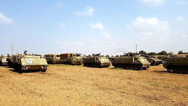 У границы с Газой. Фото: Рои Идан