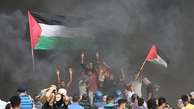 Emeutes à la frontière de Gaza (Photo: Reuters)